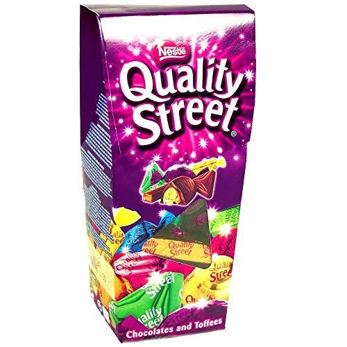 Celebration Chocolate   Nestlé   Scatola della VIA DI QUALITÀ   Peso totale 265 grammi