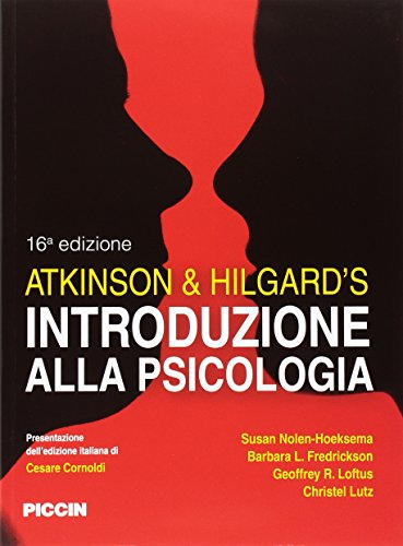 Atkinson & Hilgard?s. Introduzione alla psicologia
