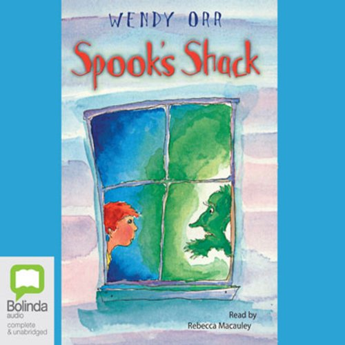 Spook's Shack audiobook cover art