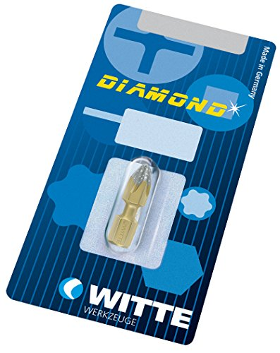 Witte 26634 Punta de destornillador Ph.2x25mm Bitflex de Diamante, Único