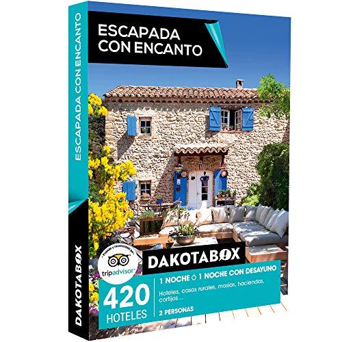 DAKOTABOX - Caja Regalo - ESCAPADA CON ENCANTO - 420 hoteles, casas rurales, masías, haciendas y cortijos en España y Portugal