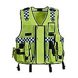 Hycoprot Gilet di Sicurezza Antinfortunistici Alta Visibilità Sicurezza Polizia Stradale ...