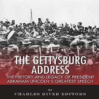 The Gettysburg Address audiobook cover art
