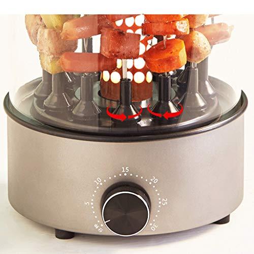 51Qwh0d PxL - WZHZJ Haushaltsrauchfreie Automatische Rotating Grillspieße, Lammspieße Grill/Barbecue-Maschine