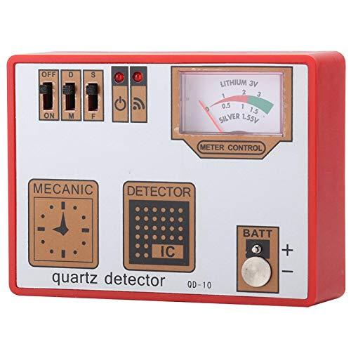 Herramienta de reparación de mesa de movimiento de cuarzo detector de funcionamiento portátil, para relojes mecánicos