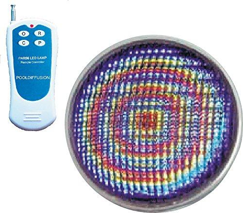 QP Produits 500387L Lampe 11 Couleurs Différentes avec Télécommande