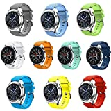 Seinit Soft Silicone Sport Band 22mm Replacement Strap Compatible...