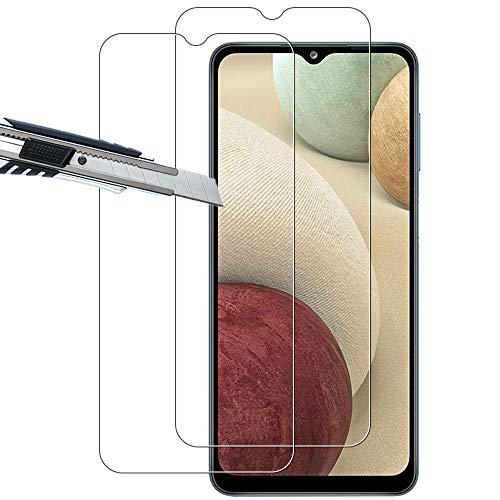 THILIVE (2 Stück) Samsung Galaxy A12 / A32 5G Panzerglas, displayschutzfolie panzerfolie, folie gehärtetem Glas,9H Festigkeit,Kratzfest,Glasfolie Glas Schutzfolie-klare