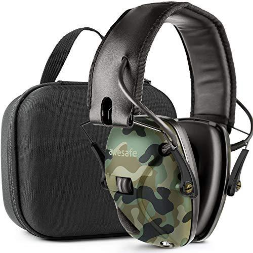 Elektronischer Gehörschutz für Schießstand mit Transportkoffer (NRR 22)