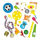 Una Selección de Pequeños Juguetes Perfectos como Relleno de Piñata Premios y Regalos de Fiestas Infantiles, paquete de 20 juguetes diferentes