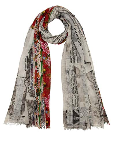 FALIERO SARTI Luxury Fashion Damen E20208671000 Grau Baumwolle Schal | Frühling Sommer 20