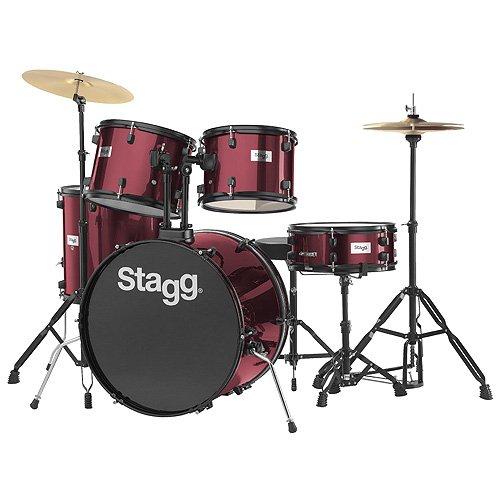Stagg TIM122B Wine Red
