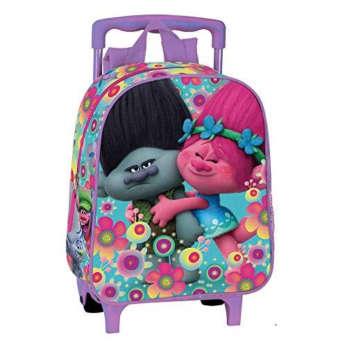Troll Cooper Rucksack Trolley Kindergarten 28x 24x 11cm Poppy und Ramon