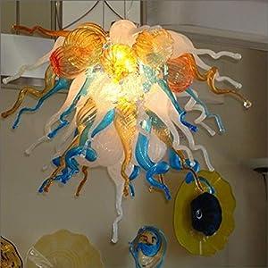 SHIJING Iluminación de Interior Antiguo LED Fuente de soplado a Mano de Cristal de Murano Lámparas de iluminación