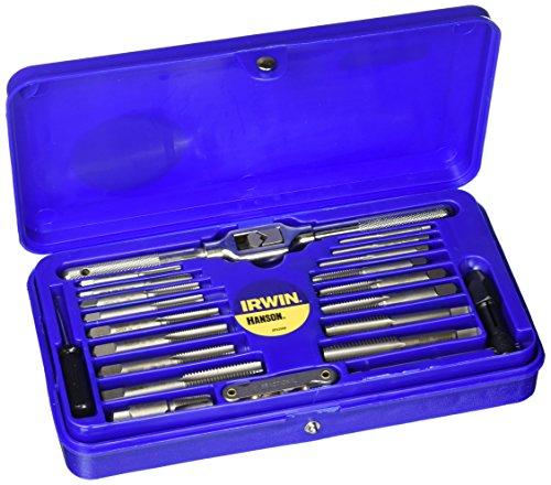 Irwin Industrial Tools 26319Maschine Schraube mit Fraktionierte oder Metrisches Gewindeschneider und Hex Super Set, 41-teilig