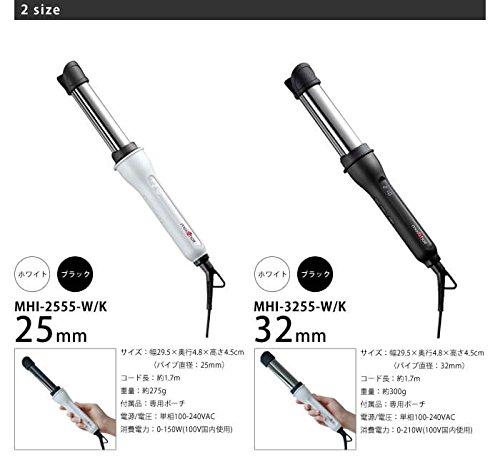 モッズヘアアドバンスイージーカール[25mm/ブラック/MHI-2555-K]