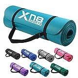Xn8 Yogamatte Gymnastikmatte Fitnessmatte |183 x 61 x 1,5cm NBR Sportmatte für Pilates-Aerobic Yoga-Gymnastikmatte mit Tragegurt rutschfest Phthalatfreie