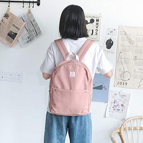 Schoolrugzak voor dames Campus van de lagere school bestaande uit schooltas en schoudertas voor dames grijs groen