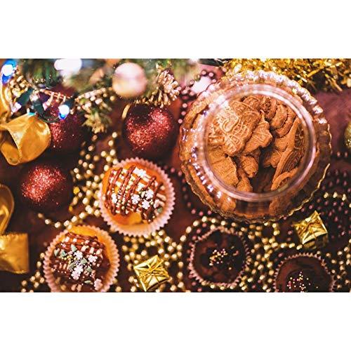 Kit de pintura de diamante 5D por número, kits de pintura de diamante para adultos y principiantes, para decoración del hogar, galletas de Navidad de 15.7 x 11.8 pulgadas por Greatminer