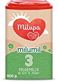 Milupa Milumil 3 Babynahrung, Folgemilch ab dem 10. Monat, Baby-Milchpulver (1 x 800 g)