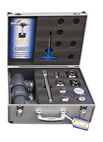 Plastic Oddities PTK1, Cleanout Plug Puller Tool Kit for Cleanout Fittings & Plugs