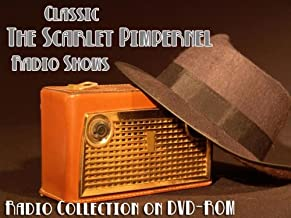 50 Classic The Scarlet Pimpernel Old Time Radio Broadcasts on DVD (over 22 Hours 22 Minutes running time)