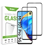 Anipns [2 Stück] 3D Curved Full Coverage Schutzfolie kompatible mit Xiaomi Mi 10T Pro, 9H Festigkeit Panzerglasfolie, HD Klar Bildschirmschutz, Anti-Kratzen, Anti-Öl, Anti-Bläschen, für Xiaomi Mi 10T Pro