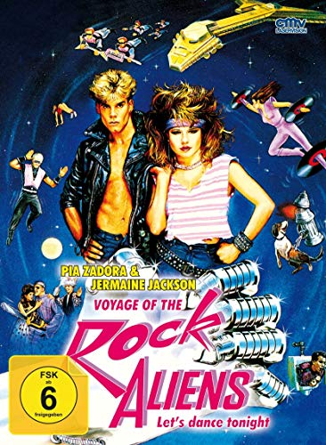 Voyage of the Rock Aliens - Mediabook - Cover A - Limited Edition (+ DVD) (+ Bonus-DVD) [Blu-ray]