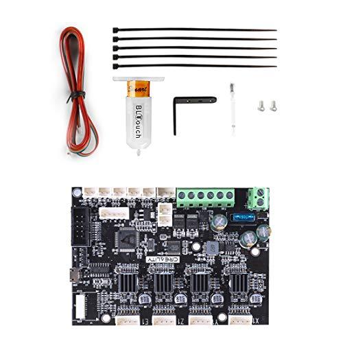 Creality Ender 6 Verbessertes Zubehör, Ender 6 BLTouch Auto Bed Leveling Sensor Kit + Silent Mainboard