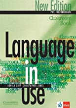 Language in Use Pre-Intermediate New Edition Classroom Book Klett edition