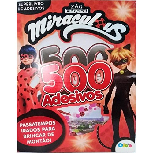 Miraculous Ladybug: Superlivro de Adesivos