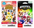 Nintendo Animal Crossing Cards Series 4 (Pack of 6 Cards) and Mario Sports Superstars amiibo (Pack of 5 Cards) - Bundle - Nintendo Switch ,3DS and Wii U
