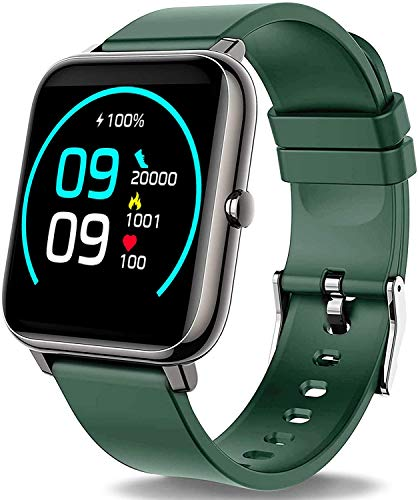 """Willful Smart Watch,1.3"""" Touch Screen Smartwatch,Fitness Trackers With Heart Rate Monitor,Waterproof IP68 Activity Trackers Watch (English Edition)"""