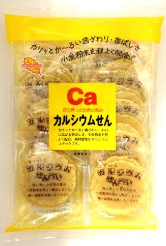 かしわ堂 カルシウムせん 27枚×12袋
