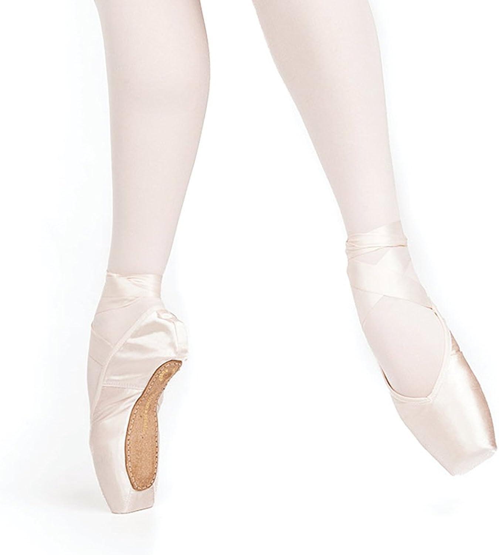 Russian Pointe Almaz Pointe shoes, V-Cut Flexible Soft Shank