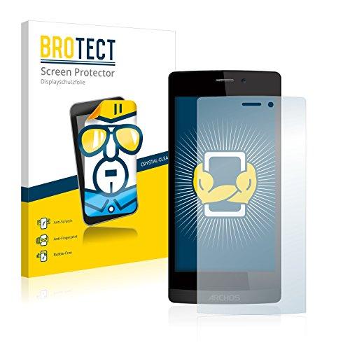 BROTECT Schutzfolie kompatibel mit Archos 50 Diamond (2 Stück) klare Bildschirmschutz-Folie