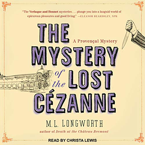The Mystery of the Lost Cezanne audiobook cover art