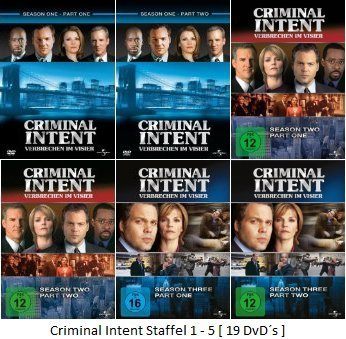 Staffel 1-3 (19 DVDs)
