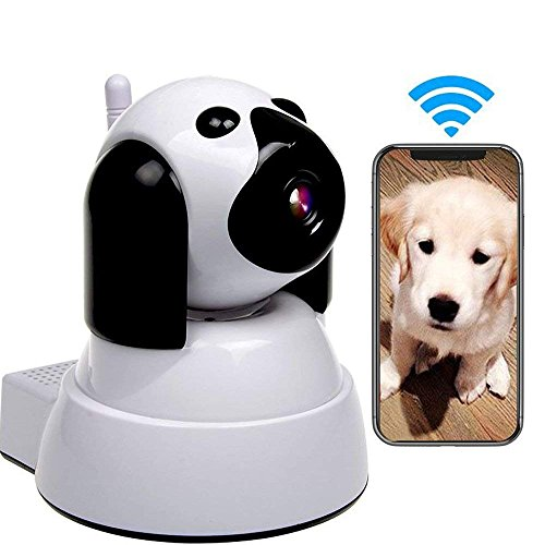 Yooan WiFi IP Camera 720P HD Wireless Camera Baby Pet Monitor Surveillance Home Security Camera Nanny IP Cam Pan/Tilt with Motion Detection Two-Way Audio Night Vision