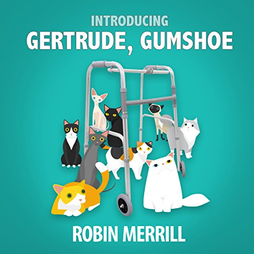 Introducing Gertrude, Gumshoe audiobook cover art