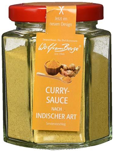 Wolfram Berge Curry-Sauce nach indischer Art - Zubereitung für Currysauce, 3er Pack (3 x 100 g)