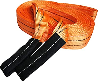Heavy Duty Recovery Strap   For Towing and Off-Road Recovery   By Titan Auto