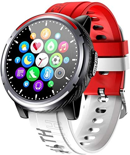Nuevo S26 reloj inteligente moda deportes Bluetooth llamada smartwatch hombres mujeres s fitness podómetro para Android Ios-B