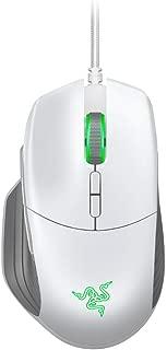 Razer Basilisk Gaming Mouse: 16,000 DPI Optical Sensor - Chroma RGB Lighting - 8 Programmable Buttons - Mechanical Switches - Customizable Scroll Resistance - Mercury White
