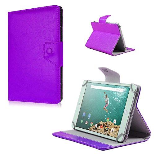 Schutz Hülle für HTC Google Nexus 9 Tasche Case Tablet Cover Farbwahl Etui Bag, Farben:Lila