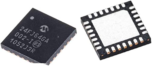 1Pcs PIC24FJ64GA002-I/ML 24FJ64GA Microcontroller Microcontroller QFN-28