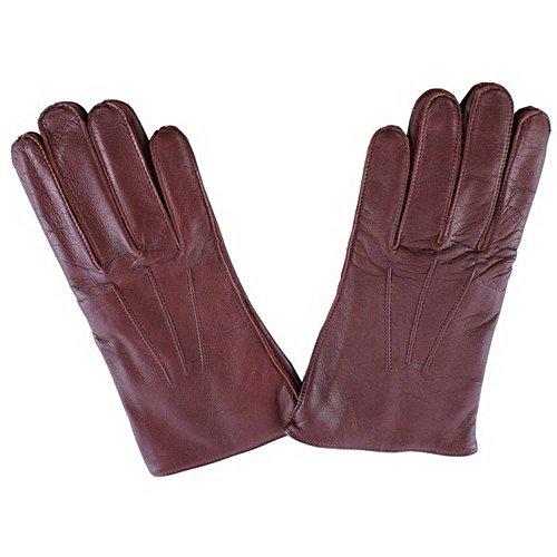 Dents Anglais Tan Mendip cuir gants de robe 7