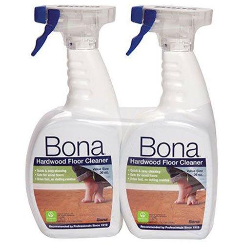 selectric BONA KEMI USA INC Hardwood Floor Cleaner, 36-oz. Spray, 2-Pk.