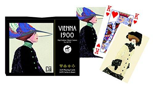 Piatnik 2617.0 Vienna 1900 – High Fashion/Haute Couture, Jeux de Cartes