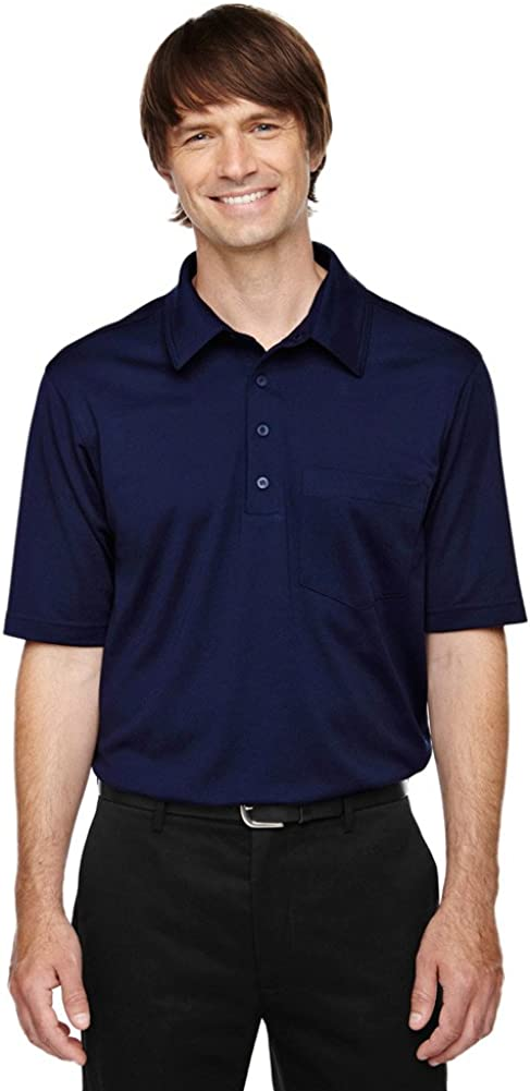 Ash City - Extreme Extreme Eperformance Men's Tall Shift Polo Shirt, 2XT, Classic Navy 849